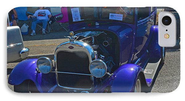 IPhone Case featuring the photograph 1929 Ford Model A by Tikvah's Hope