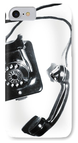 1930s Telephone Phone Case by David Ridley