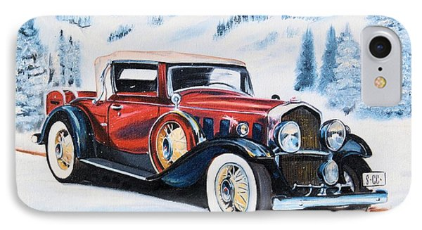 1931 La Salle Convertible Coupe IPhone Case by Cheryl Poland