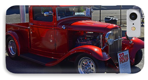 IPhone Case featuring the photograph 1932 Ford Pick Up by Tikvah's Hope