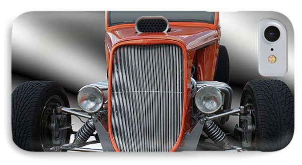 1933 Ford Roadster - Hotrod Version Of Scream Phone Case by Betty Northcutt