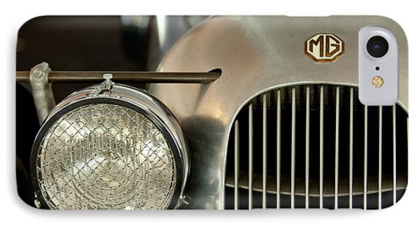 1934 Mg Pa Midget Supercharged Special Speedster Grille Phone Case by Jill Reger