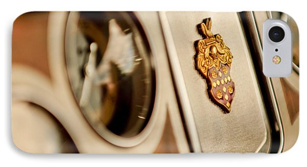 1934 Packard 1104 Super Eight Phaeton Emblem Phone Case by Jill Reger