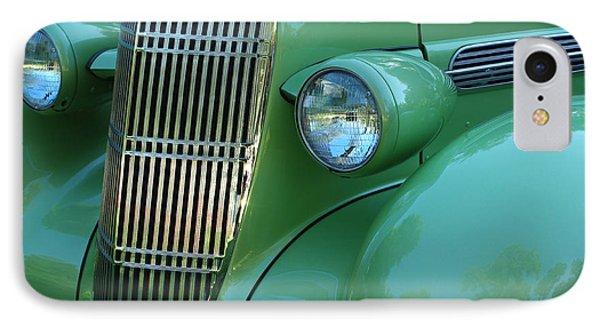 1935 Oldsmobile Grill Phone Case by Peter Piatt