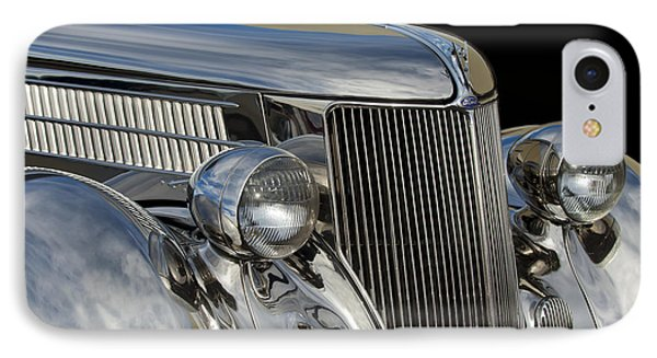 1936 Ford - Stainless Steel Body IPhone Case by Jill Reger