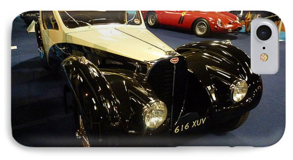 IPhone Case featuring the photograph 1937 Bugatti Type S7sc Altalante by John Colley