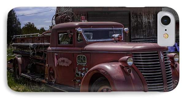 1939 American Lafrance Foamite IPhone Case by Tom Gort