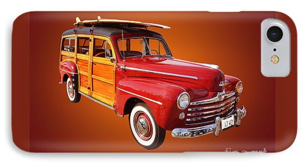 1947 Woody IPhone Case by Jim Carrell
