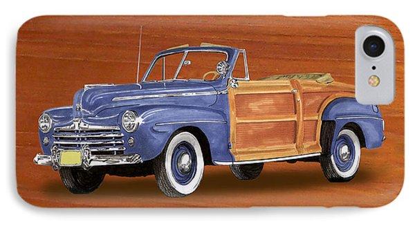 1948 Ford Sportsman Convert. Phone Case by Jack Pumphrey