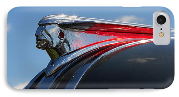 1948 Pontiac Silver Streak Hood Ornament Phone Case by Gordon Dean II