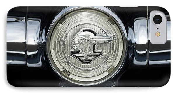 1950 Pontiac Grille Emblem 2 Phone Case by Jill Reger