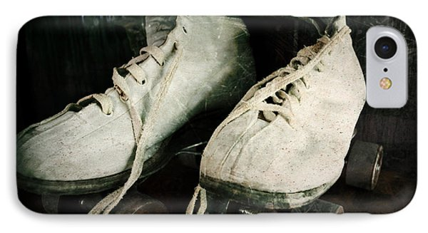 1950's Roller Skates Phone Case by Michelle Calkins