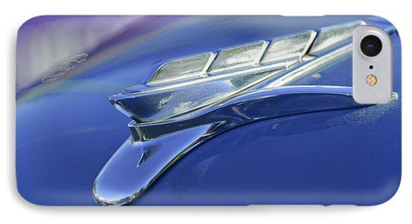 1951 Plymouth Hood Ornament Phone Case by Jill Reger