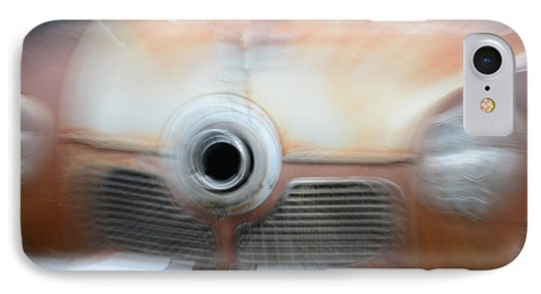1951 Studebaker Abstract IPhone Case by Randy J Heath