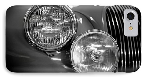 1952 Jaguar Headlights IPhone Case