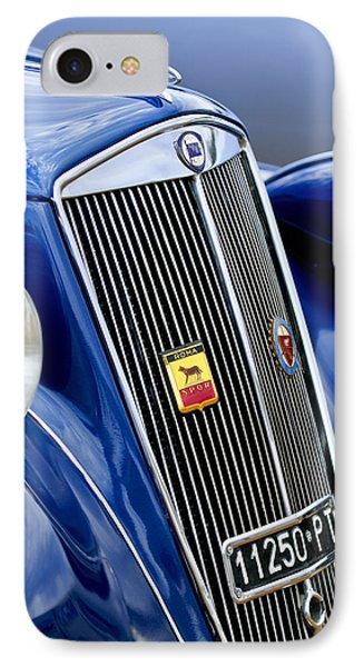 1952 Lancia Ardea 4th Series Berlina Grille Emblems Phone Case by Jill Reger