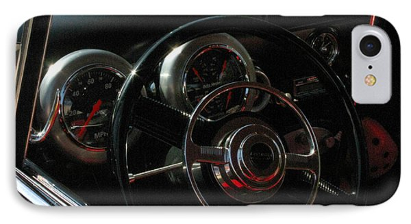 1953 Mercury Monterey Dash Phone Case by Peter Piatt