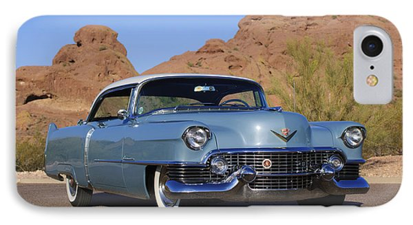 1954 Cadillac Coupe Deville Phone Case by Jill Reger