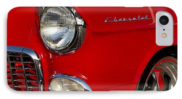 1955 Chevrolet 210 Headlight Phone Case by Jill Reger