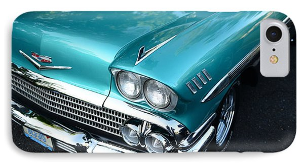 1955 Chevy Belair Front End Phone Case by Paul Ward