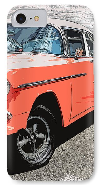 1955 Chevy Phone Case by Steve McKinzie