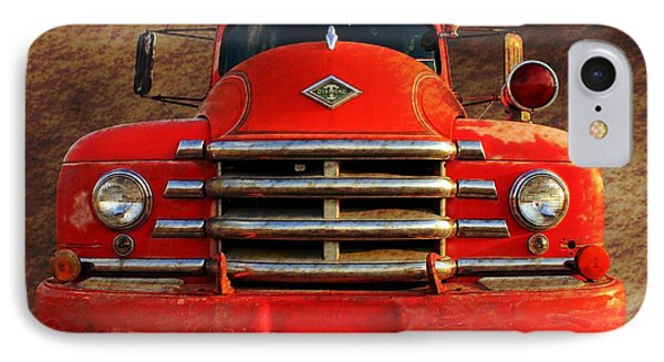 1955 Diamond T Grille - The Cadillac Of Trucks Phone Case by Betty Northcutt