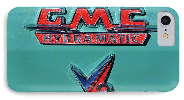 1955 Gmc Suburban Carrier Pickup Truck Emblem Phone Case by Jill Reger