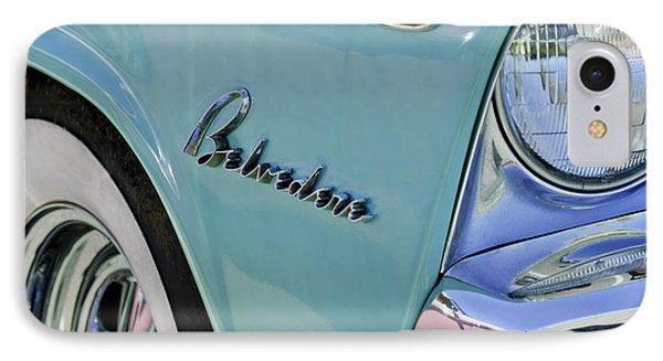 1955 Plymouth Belvedere Emblem Phone Case by Jill Reger