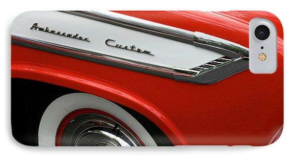 1957 Nash Ambassador Custom Phone Case by Gordon Dean II