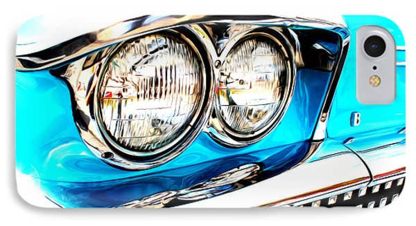 IPhone Case featuring the digital art 1958 Buick by Tony Cooper