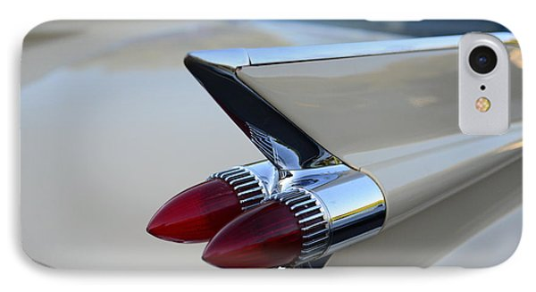 1958 Cadillac Tail Lights Phone Case by Paul Ward