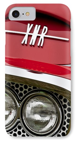 1960 Plymouth Xnr Ghia Roadster Grille Emblem Phone Case by Jill Reger