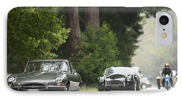 1961 Jaguar E-type 3.8 Litre Fixed Head Coupe Phone Case by Jill Reger