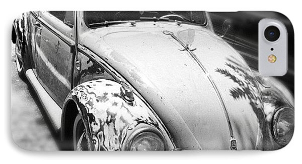 1961 Volkswagon Beetle IPhone Case by Gwyn Newcombe