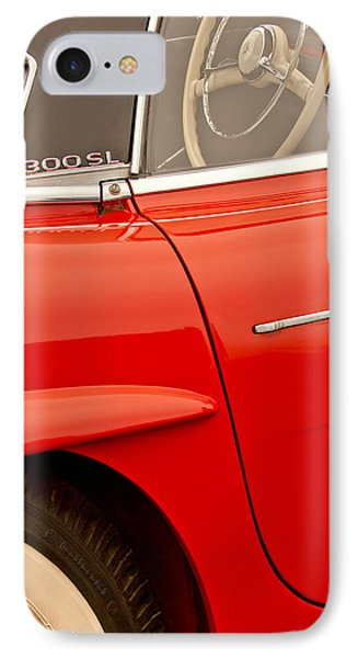 1962 Mercedes-benz 300 Sl Roadster Phone Case by Jill Reger