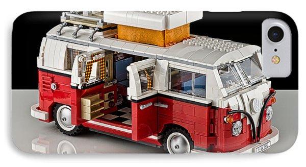 1962 Vw Lego Bus Phone Case by Noah Katz