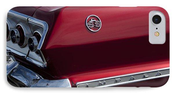1963 Chevrolet Impala Ss Taillight Phone Case by Jill Reger
