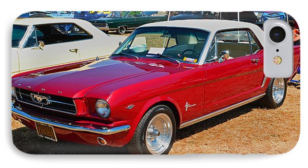 IPhone Case featuring the photograph 1964 Ford Mustang by Tikvah's Hope