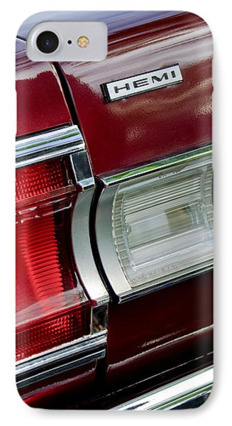 1967 Plymouth Hemi Taillight  IPhone Case