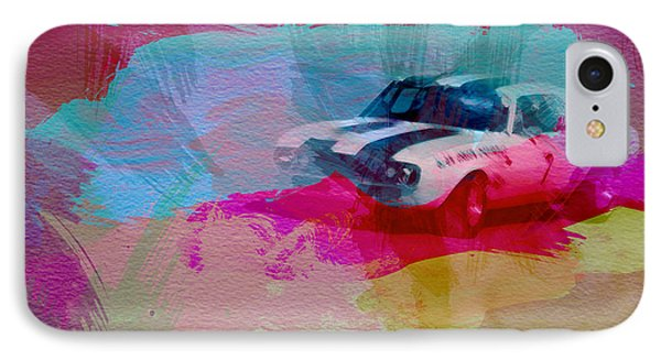 1968 Chevy Camaro IPhone Case by Naxart Studio