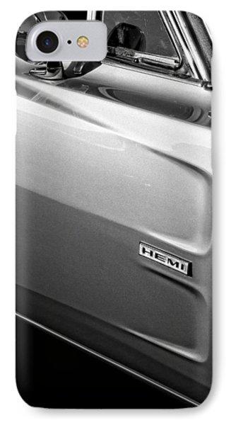 1968 Dodge Charger Hemi IPhone Case by Gordon Dean II
