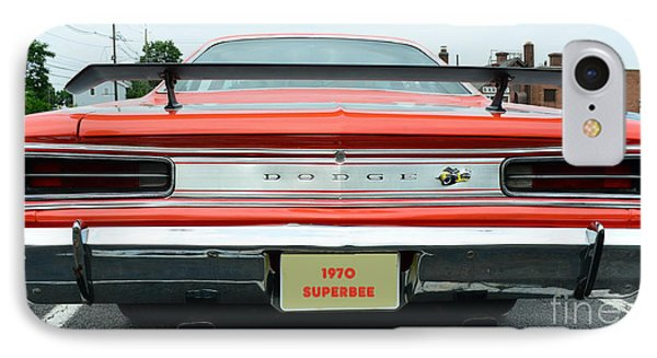 1970 Dodge Coronet Super Bee IPhone Case by Paul Ward