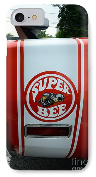 1970 Dodge Super Bee 1 IPhone Case by Paul Ward