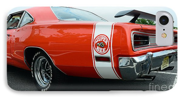 1970 Dodge Super Bee 2 IPhone Case by Paul Ward