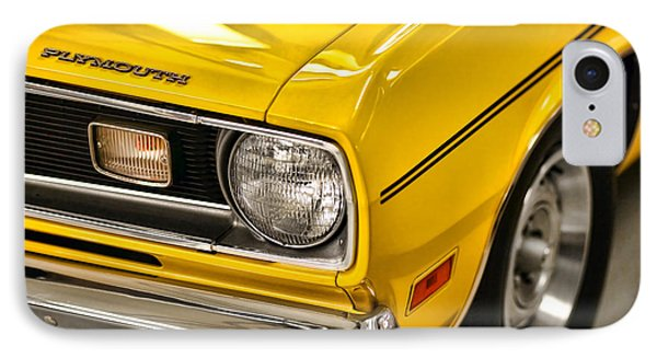 1970 Plymouth Duster 340 Phone Case by Gordon Dean II
