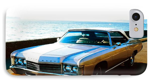 1971 Chevrolet Impala Convertible IPhone Case by Sadie Reneau