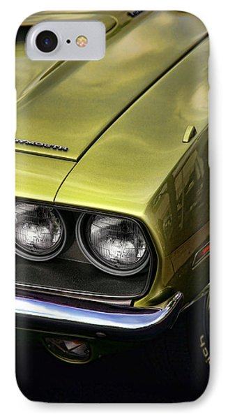 1971 Plymouth Barracuda 360 Phone Case by Gordon Dean II