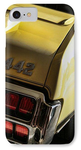 1972 Oldsmobile 442 Phone Case by Gordon Dean II