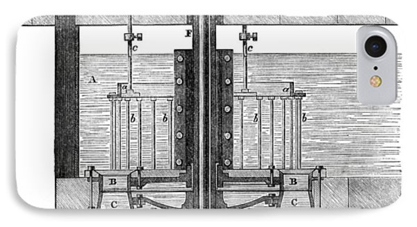 19th Century Parallel-flow Turbine Phone Case by Library Of Congress