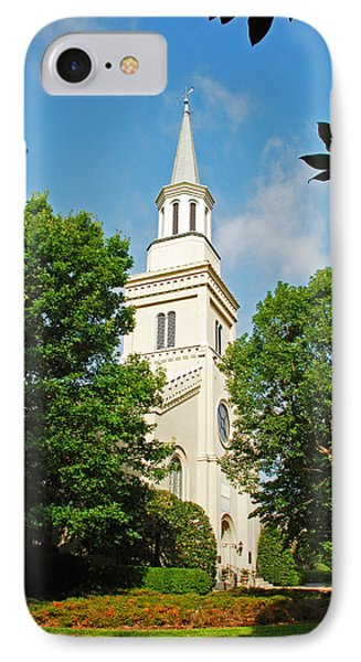 IPhone Case featuring the photograph 1st Presbyterian Church by Kay Lovingood